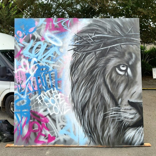 Personal Legal Street Art @ Newquay Drive in Church