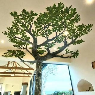Tree Interior Hand Painted Mural