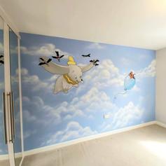 Dumbo Interior Wall Mural