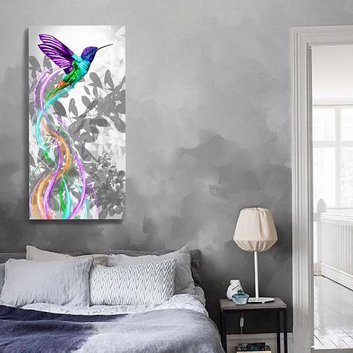 Single Humming Bird Print