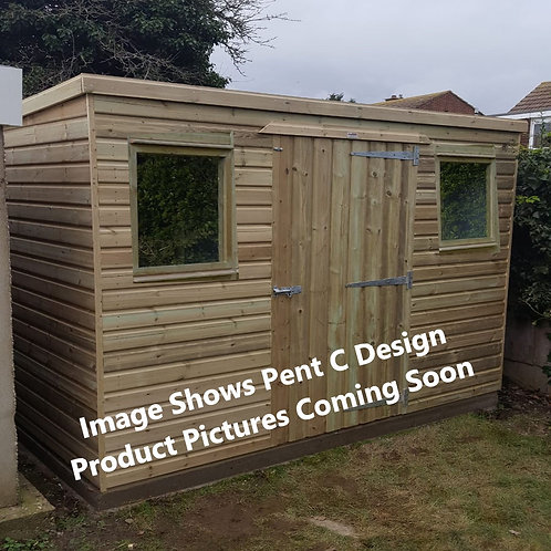 ALBION Pent Shed C