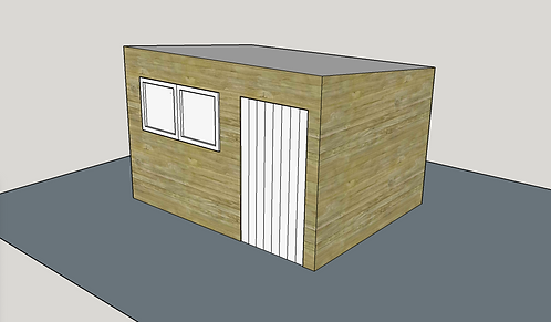 ALBION Pent R2 Shed