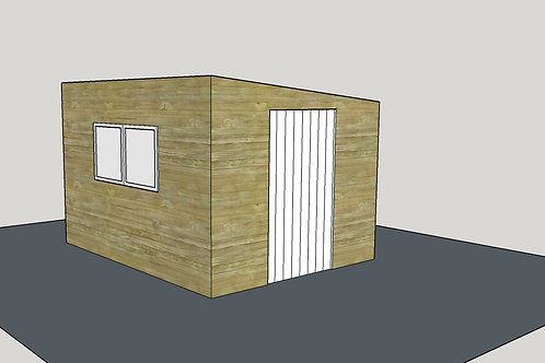 ALBION Pent Shed 1.1