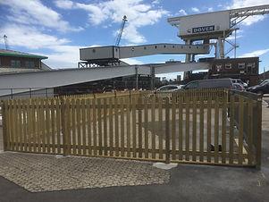 Palisade Fencing @ Dover Port