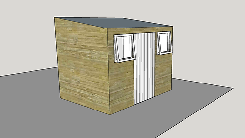ALBION Pent Shed C.1 (opening-windows)