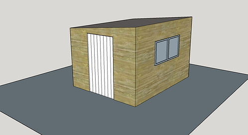 ALBION Pent Shed 2.1