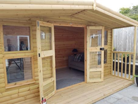 Internal Clad Summerhouse