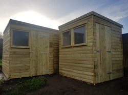 Albion Pent Shed