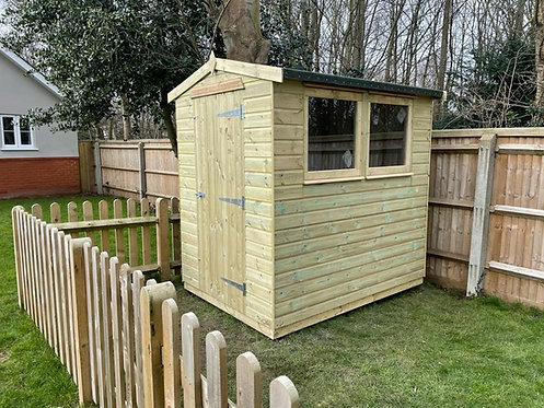ALBION Apex Shed