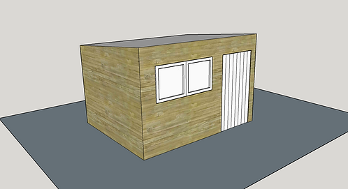 ALBION Pent Shed R2