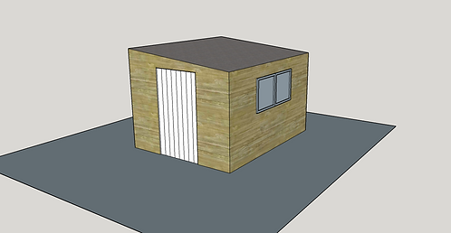 ALBION Pent Shed 2