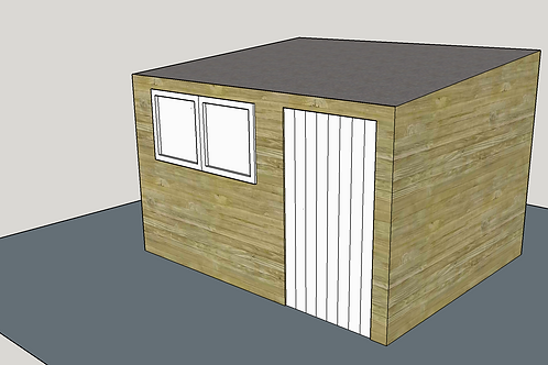 ALBION Pent Shed R2.1