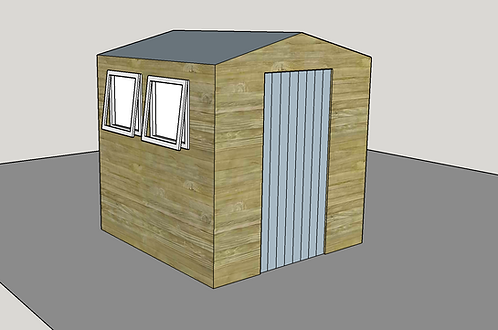 ALBION Apex Shed (opening-windows)