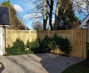 Close board Fencing &  Ledged Braced Gate