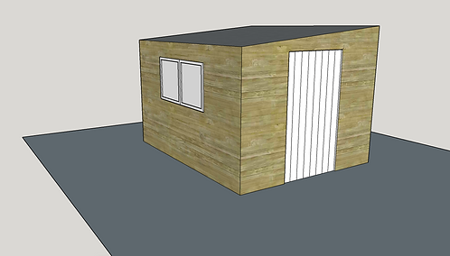 ALBION Pent Shed 1