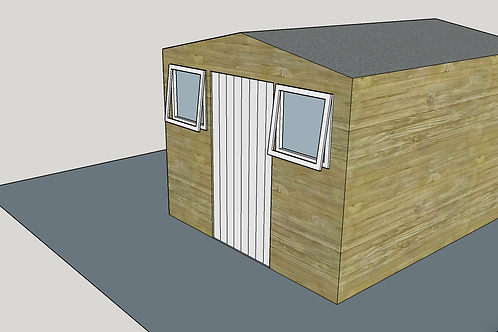 ALBION Apex CS Shed (opening-windows)