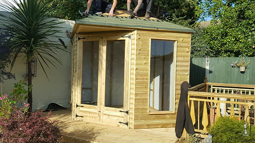 ALBION 4 Ridge Pitch Summerhouse