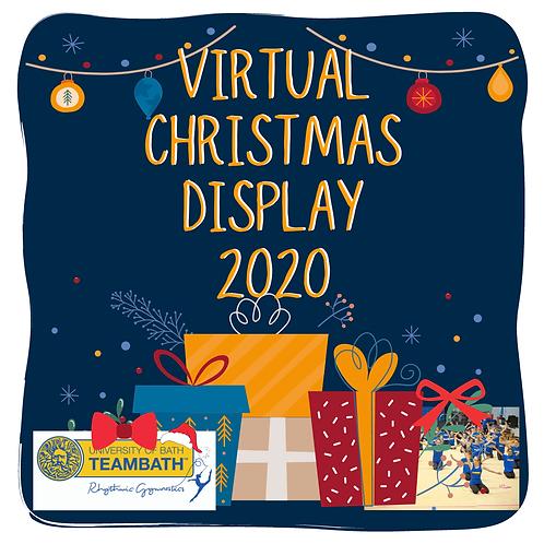 DVD of Christmas Display 2020