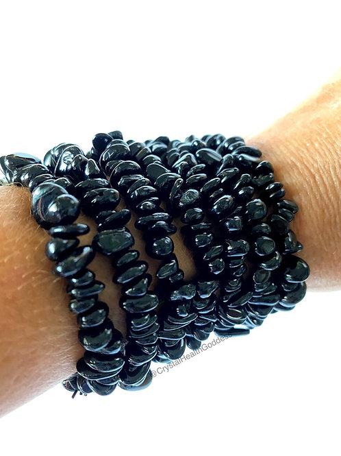 Black Tourmaline Stone Bracelet