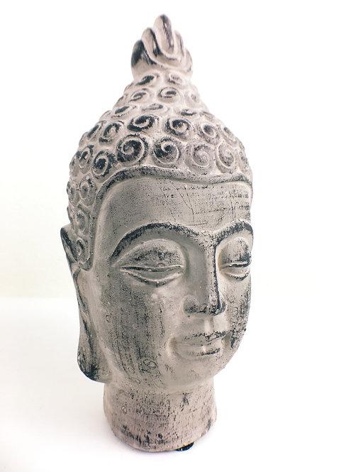 Peaceful Buddha Bust Sculpture