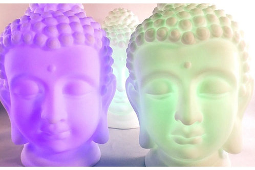 Buddha Lamp Cordless Changes into 6 different colors