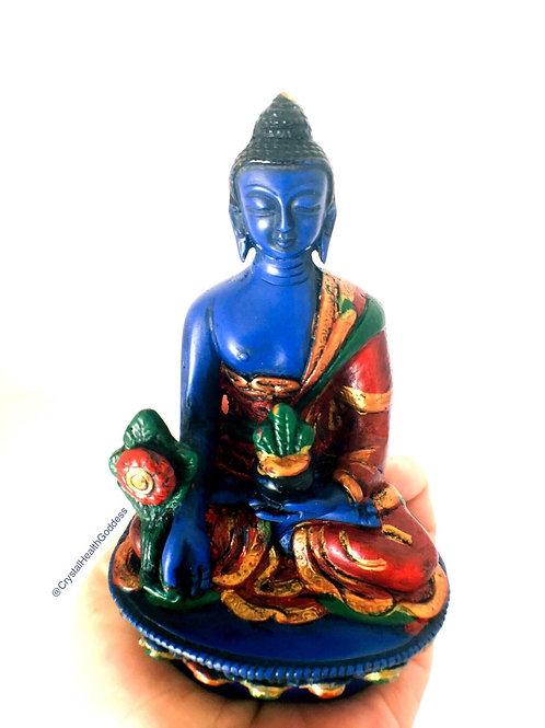 Lapis Lazuli Medicine Buddha Figurine