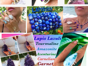 Crystal Healing Jewelry. It's Beautiful, Filled With Positive Energy and Have Many Healing Benefits