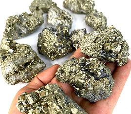 Pyrite Rough Clusters Peruvian