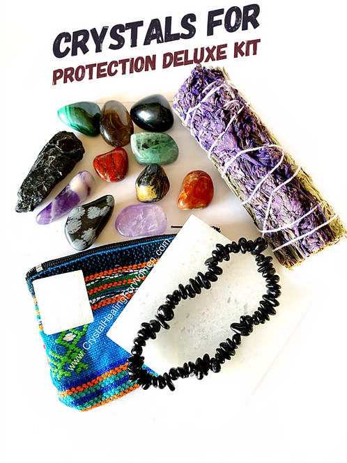 Crystals For Protection Deluxe Kit