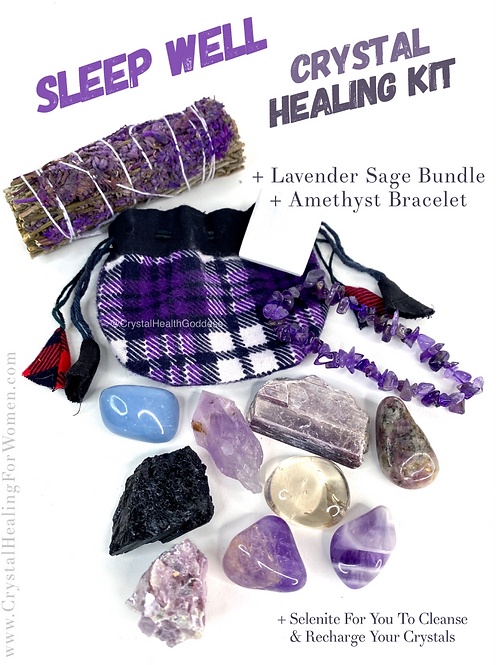 Crystals To Sleep & Insomnia The Essential Kit
