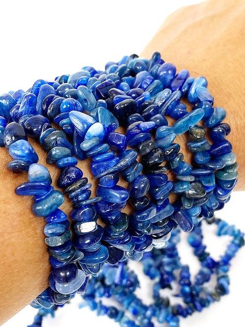Blue Kyanite Chips Bracelet