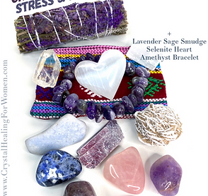 Crystals For Anxiety Stress & Relaxation