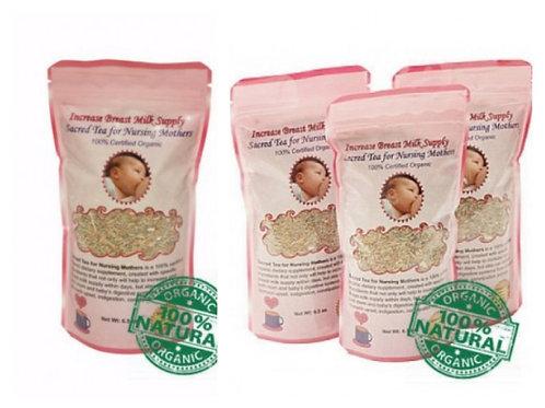 4 Bags of Sacred Tea For Nursing Mothers