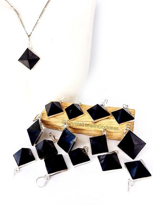 Shungite Pyramid Pendant