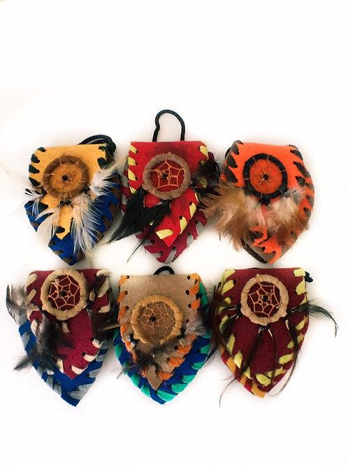 Dreamcatcher Indian Pouch Medicine Bag Large
