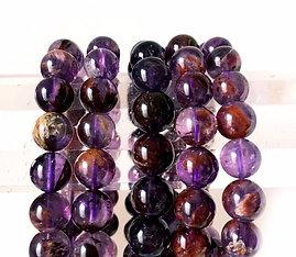 Cacoxenite Super Seven Crystal Of Ascension Bracelet