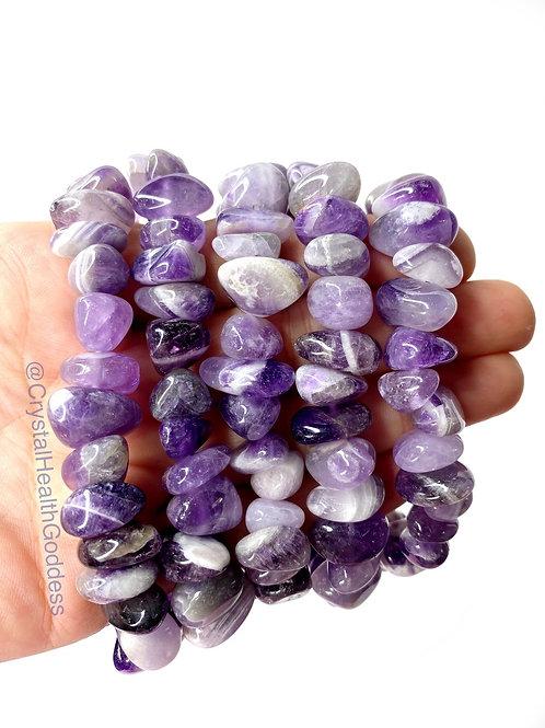 Amethyst Bracelet B Grade