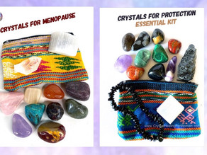 Crystals For Pain and Healing From an Injury.