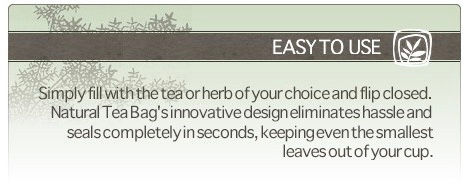 natural tea bags, empty tea bags, fill in tea bags, best tea bags