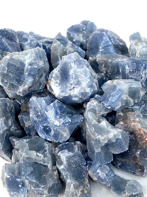 Calcite Blue Rough Natural