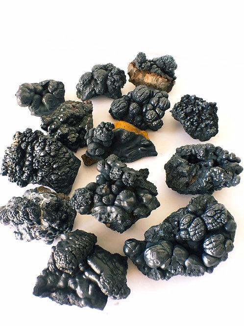 Botryoidal Goethite Blobs Crystal Specimens Super Rare