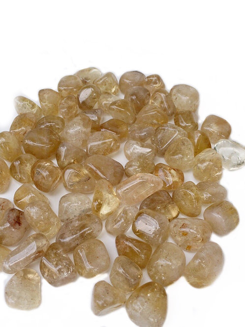 Citrine Tumbled Crystals 100% Natural From Africa