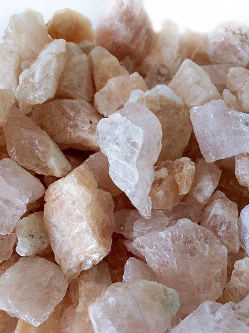 Morganite Crystals Rough Genuine