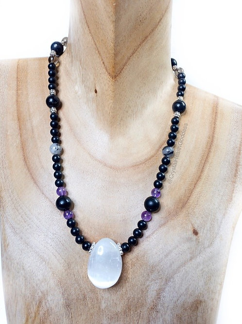 Shungite Necklace Collection Design #4