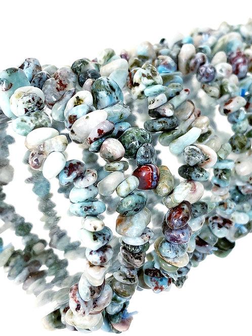 Larimar Stone Bracelet Genuine