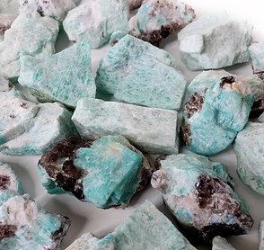 Amazonite Stone Rough From Peru