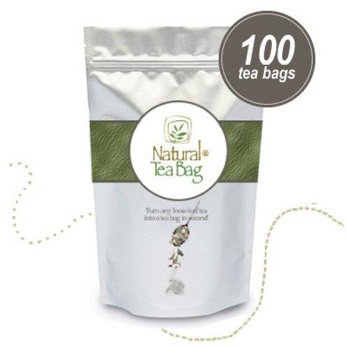 100 Natural Tea Bags