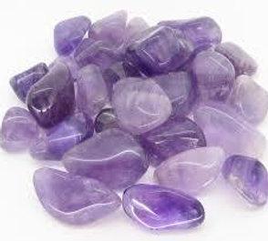Amethyst  Crystals Tumbled