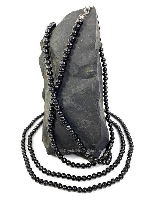 Shungite Beads Necklace