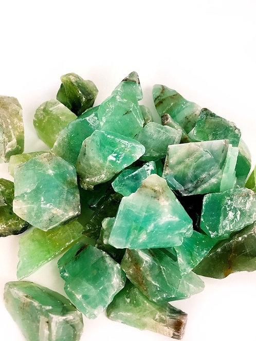 Calcite Green Rough Natural